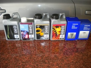 VOLVO專用油品零件