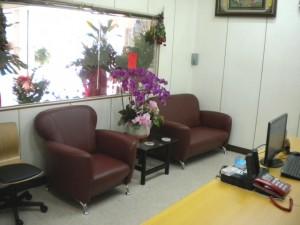 舒適溫馨的休息室